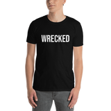 Wrecked Text Tee