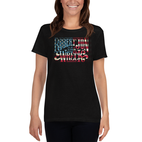 T-Shirt - American Flag Tee (Womens)