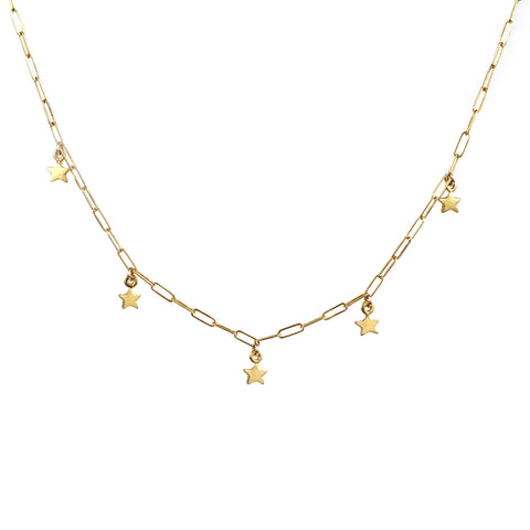 Twinkle Twinkle - Five Star Necklace