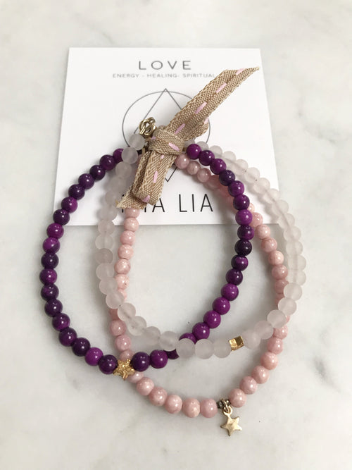 Love Keepsake Bracelet Set