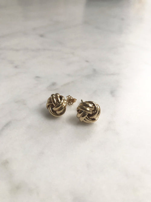 Aurélie Knot Earrings