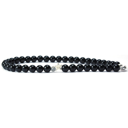 July - Black Onyx Keepsake Bracelet