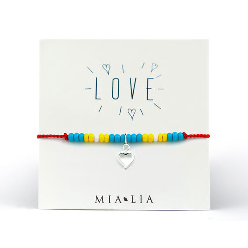 Open Heart Friendship Bracelet