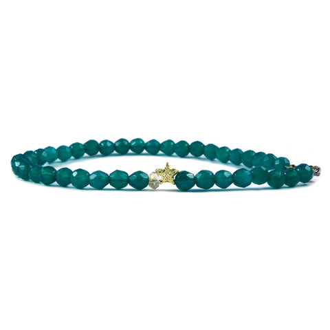Keepsake Bracelet - Emerald Sparkle