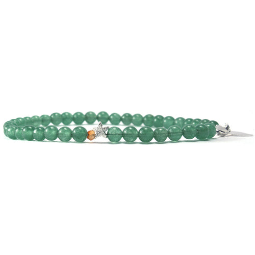 April - Green Aventurine Keepsake Bracelet
