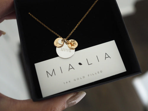 Name Discs Necklace
