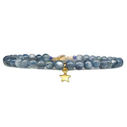 Star Keepsake Bracelet - Kyanite