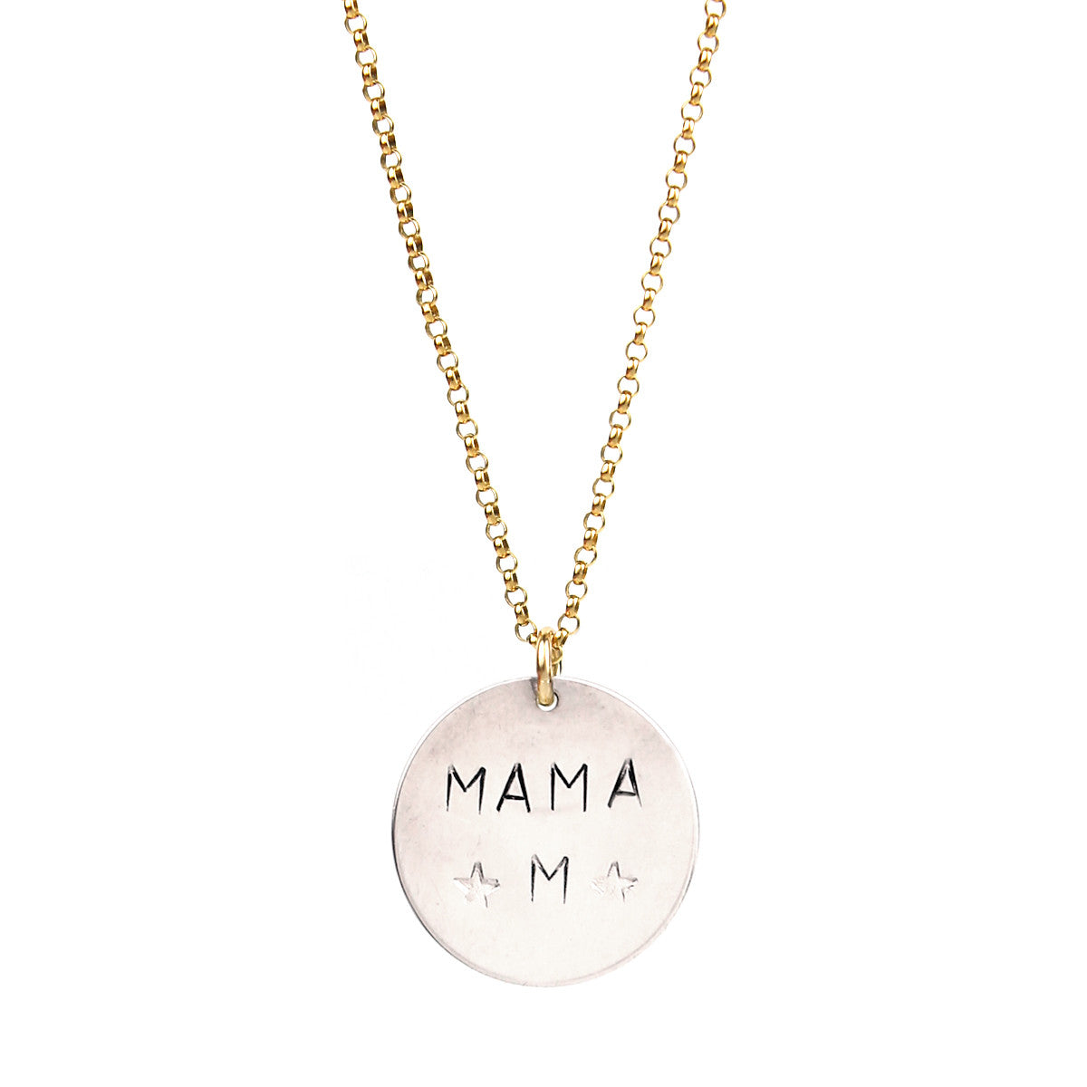 gold my necklace image rose bear captured journey mama cubs