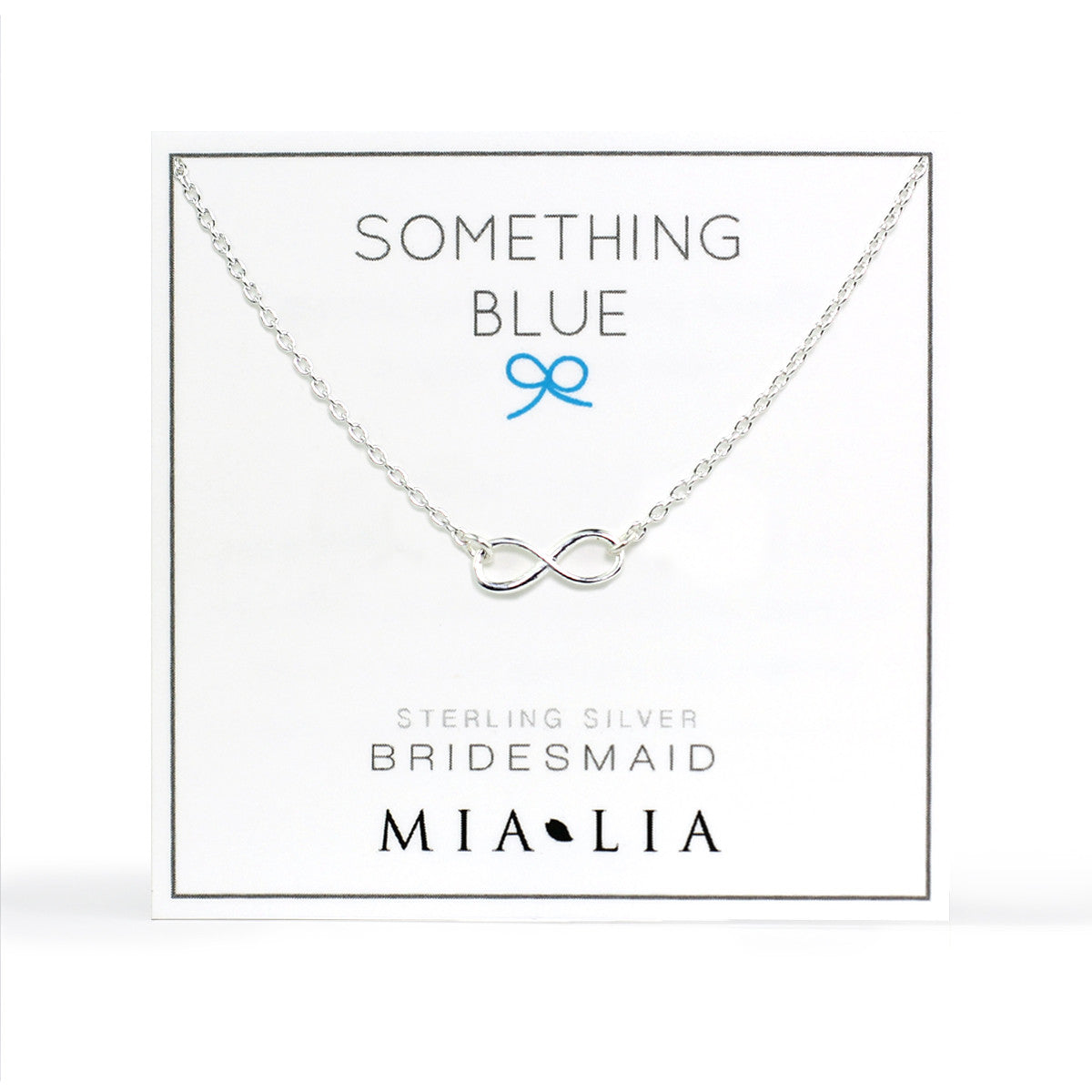 Infinity Necklace - Bridal