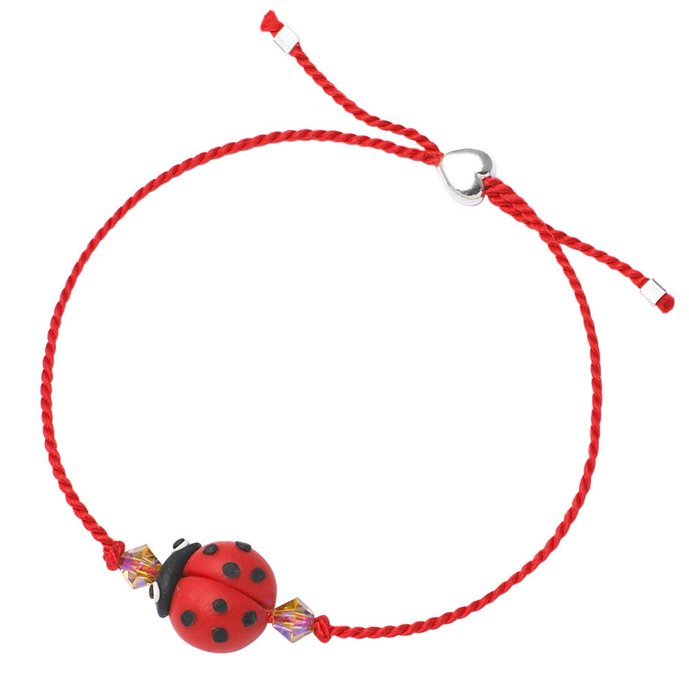 Children's Ladybird Friendship Bracelet