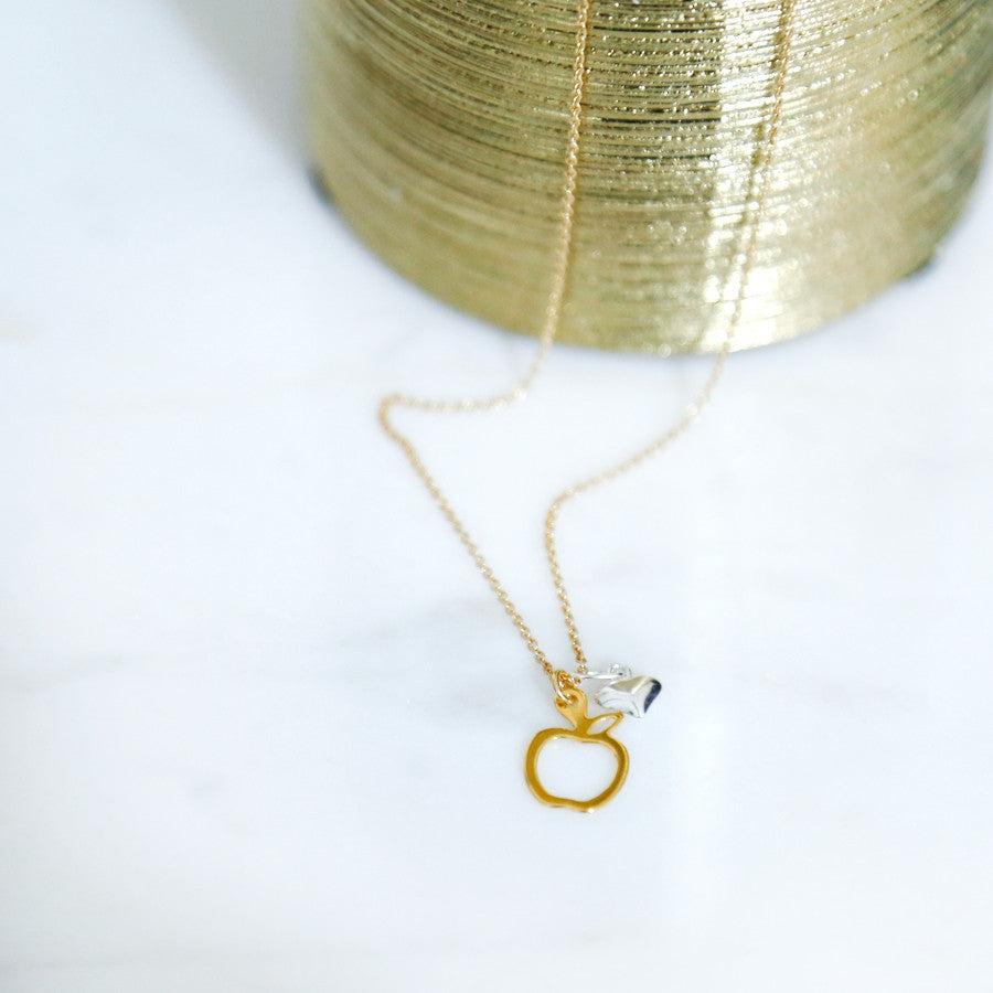 Apple Of My Eye Necklace