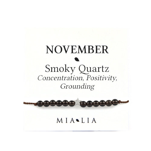 Birthstone Friendship Bracelet - November