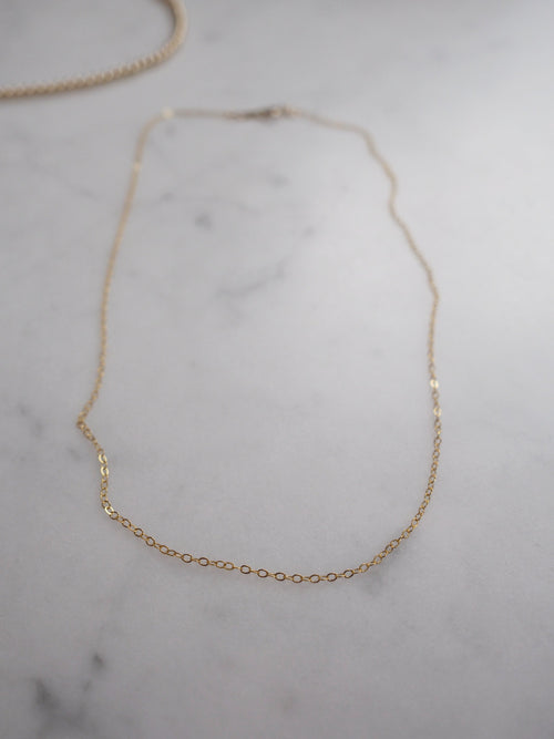 Light Gold Choker Necklace