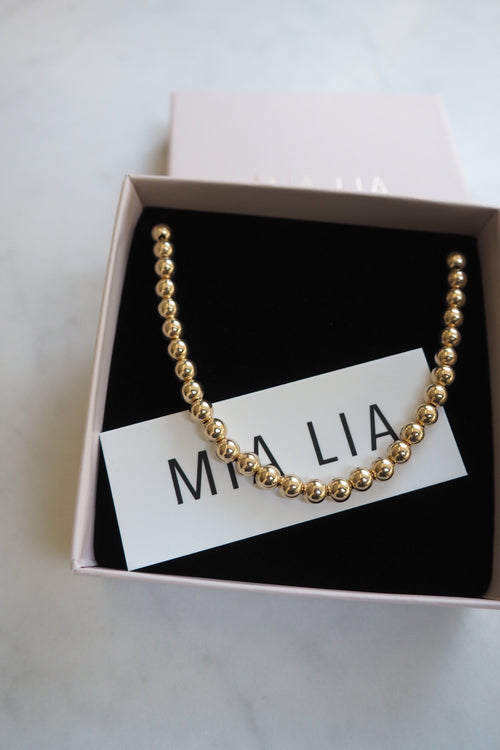 Gold Keepsake Necklace