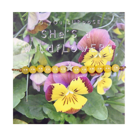 WILDFLOWER - Friendship Bracelet