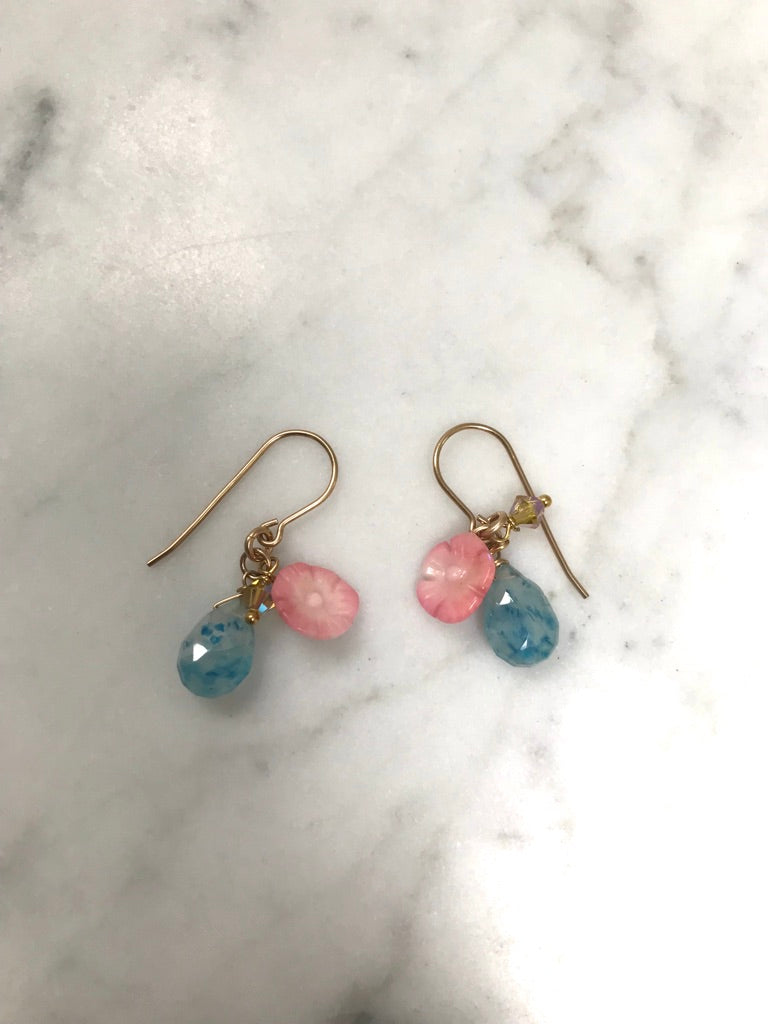 Semi Precious Mixed Earrings