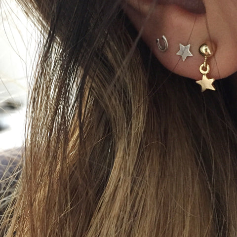 Star Droplet Earring