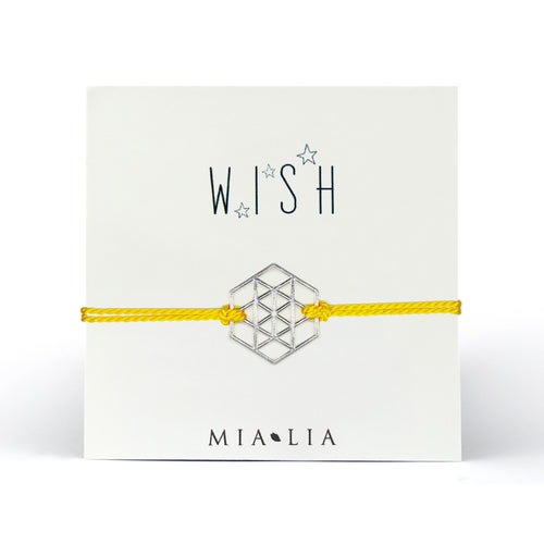 Wish Geo Star Friendship Bracelet