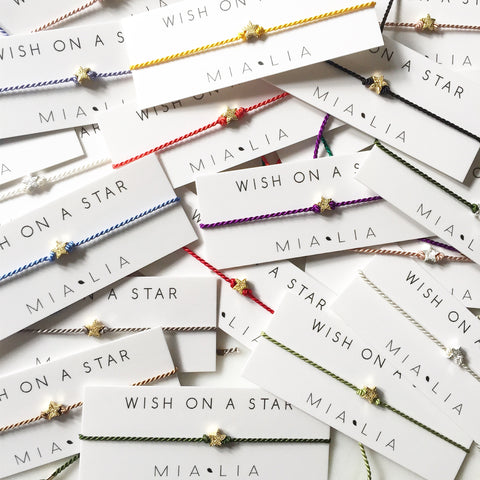 Wish On A Star - Friendship Bracelet