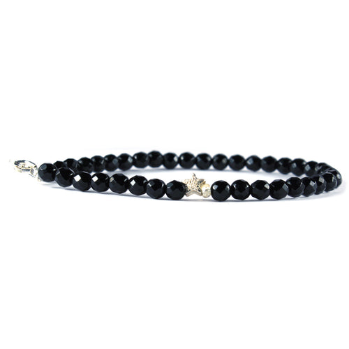 Keepsake Bracelet - Black Onyx Sparkle