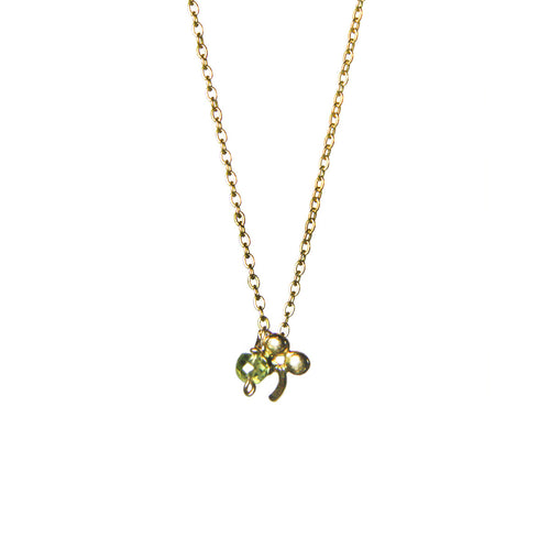 Whimsical Shamrock Necklace