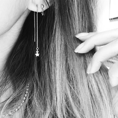 Drop Star Earring