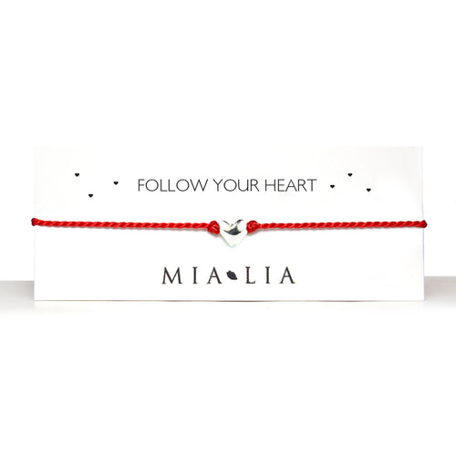 Follow Your Heart Friendship Bracelet