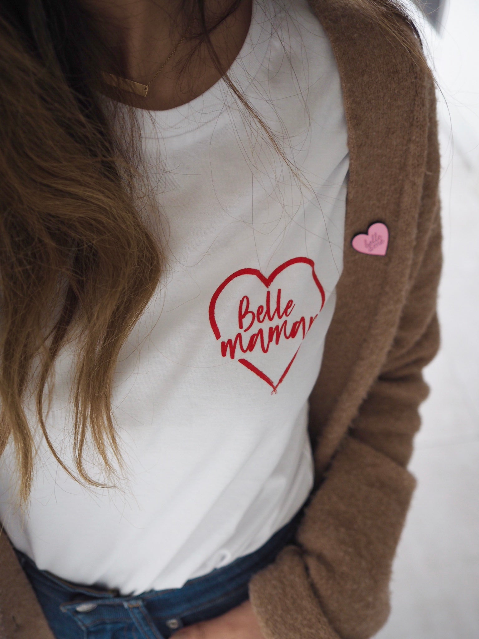 Belle Maman Red Heart Tee