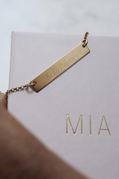 Engraved ID Necklace