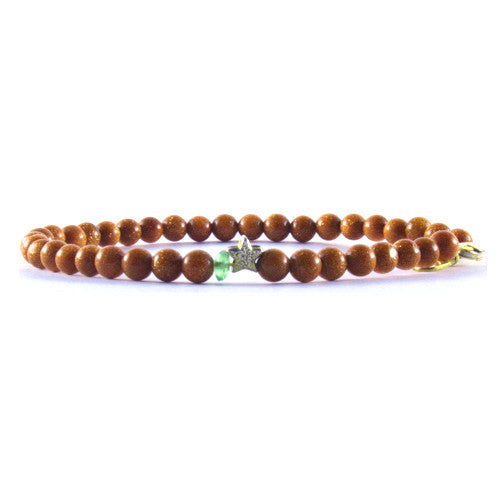 Keepsake Bracelet - Goldstone