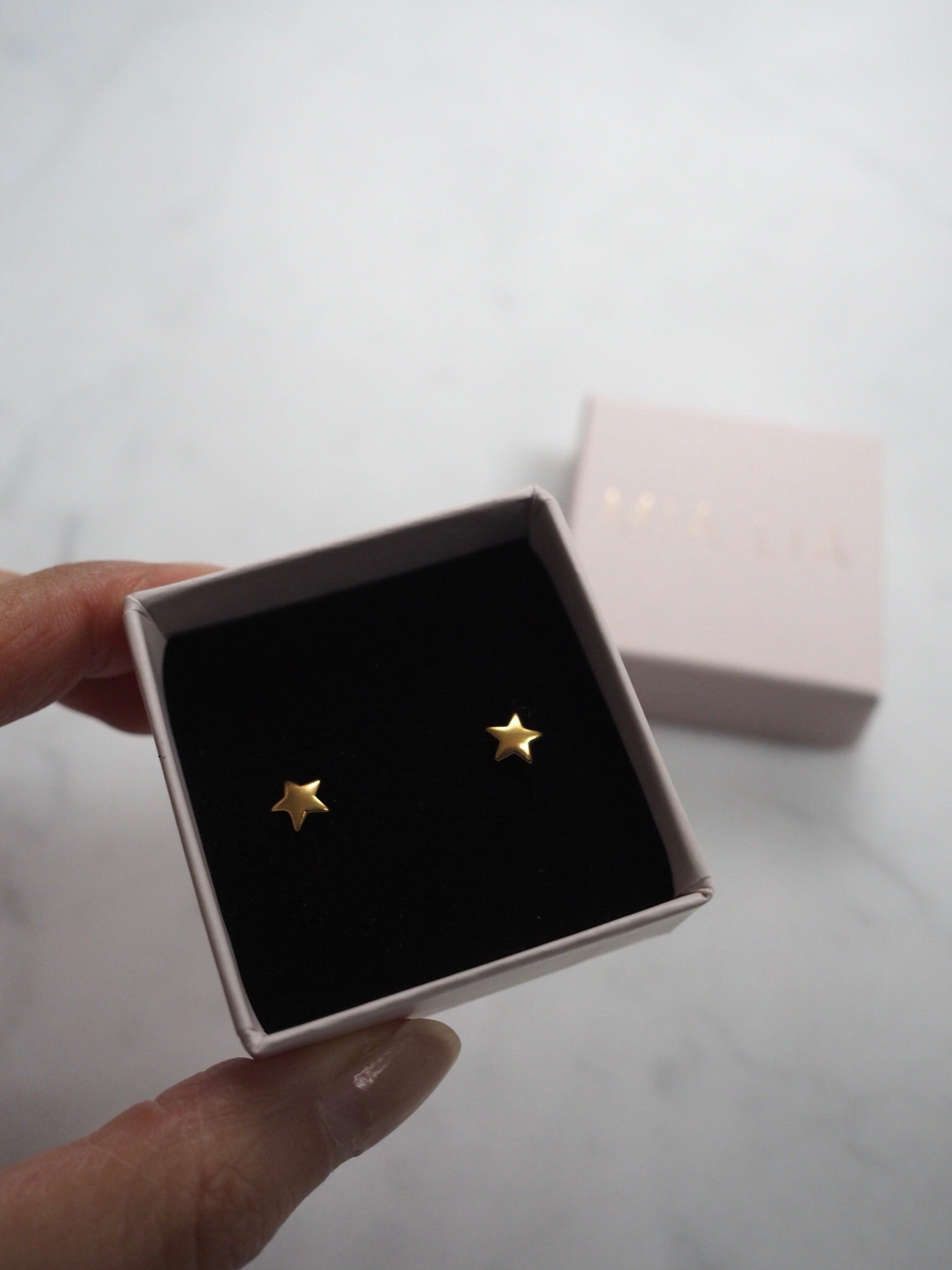 Astrid Star Earrings