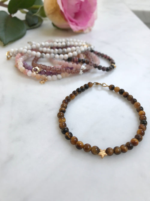 Tigers Eye Keepsake Bracelet