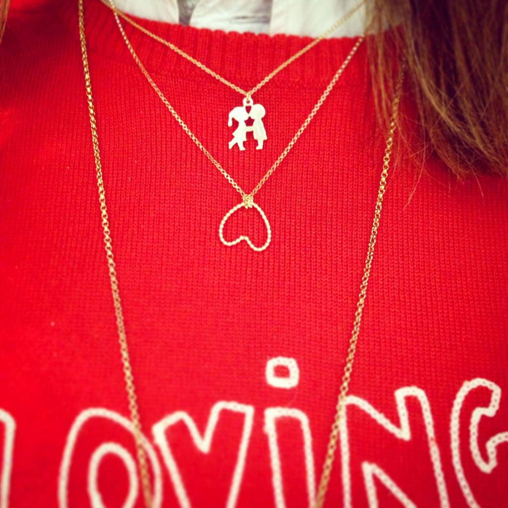 Bottom of My Heart - Necklace