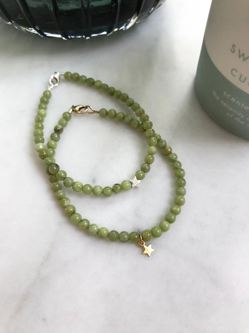 Olivenite Keepsake Bracelet