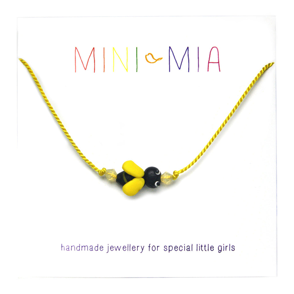 Children's Bumblebee Necklace