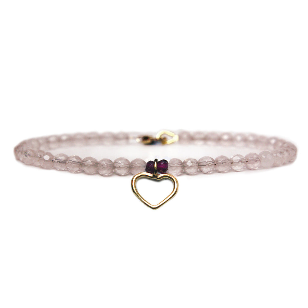 Love Heart Keepsake Bracelet