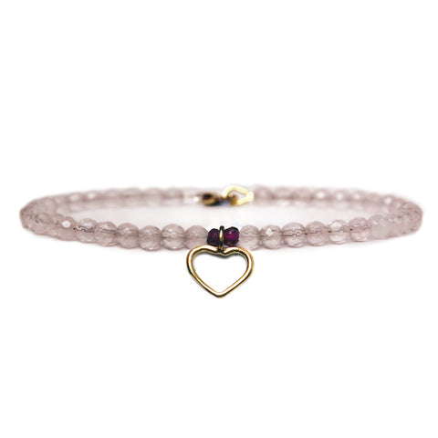 Open Heart Keepsake Bracelet