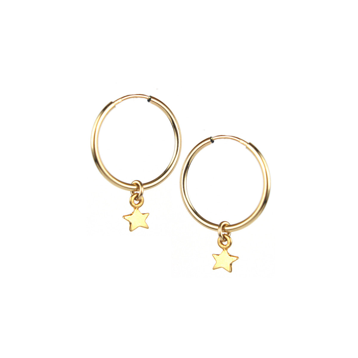 Twinkle Twinkle Hoop Earrings