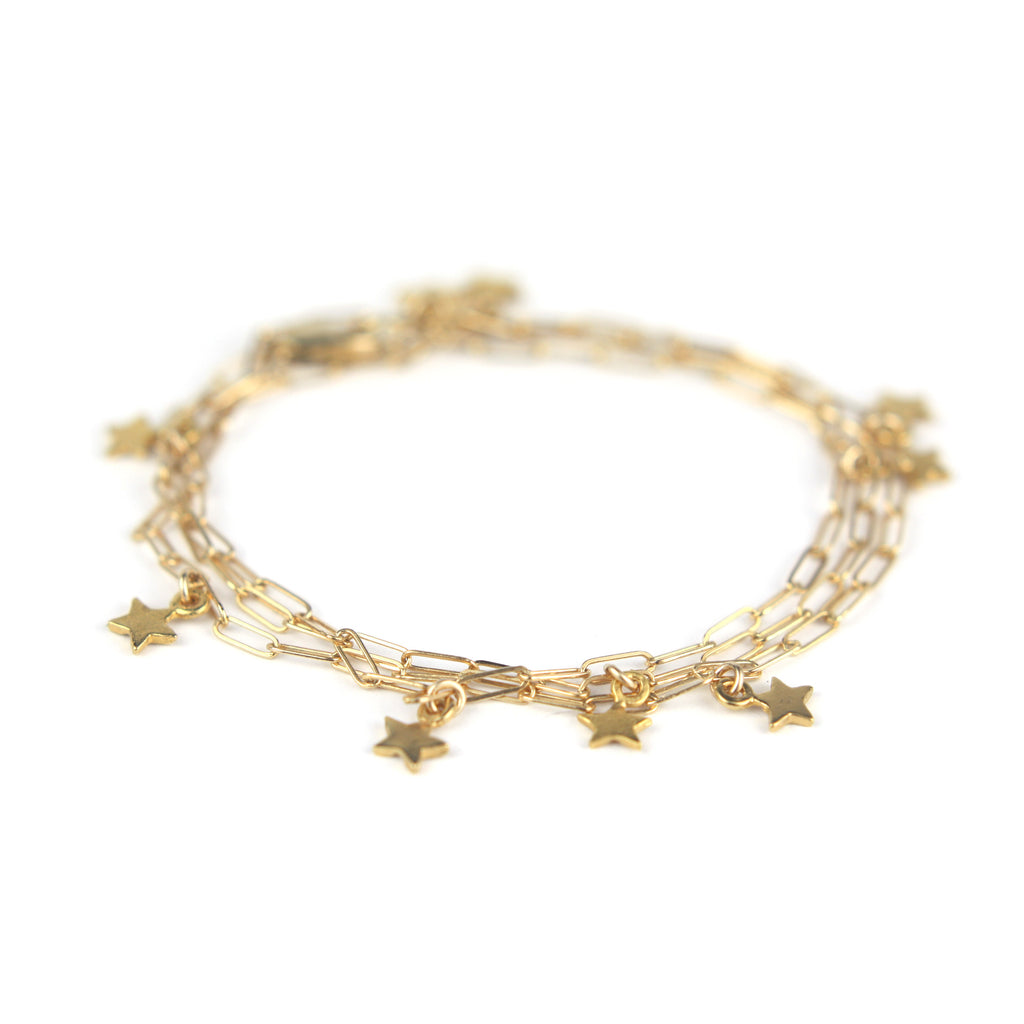 Star Bright Wrap Bracelet