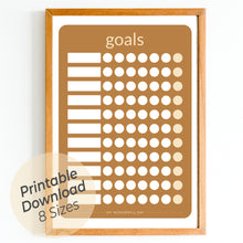 Load image into Gallery viewer, Goals Chart - Honey