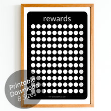 Load image into Gallery viewer, Rewards Chart - Black
