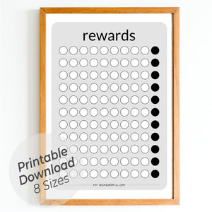 Rewards Chart - Black