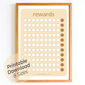 Rewards Chart - Honey