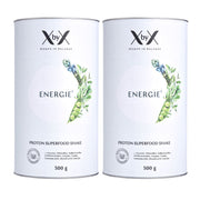 2er set energie protein superfood shake xbyx