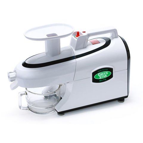 Green Star GSE-5000 Elite Twin Gear Juicer *220-240v* *REFURBISHED*