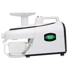 Green Star GSE-5000 Elite Twin Gear Juicer with Cup