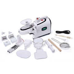 Green Star GSE-5000 Elite Twin Gear Juicer with Accessories