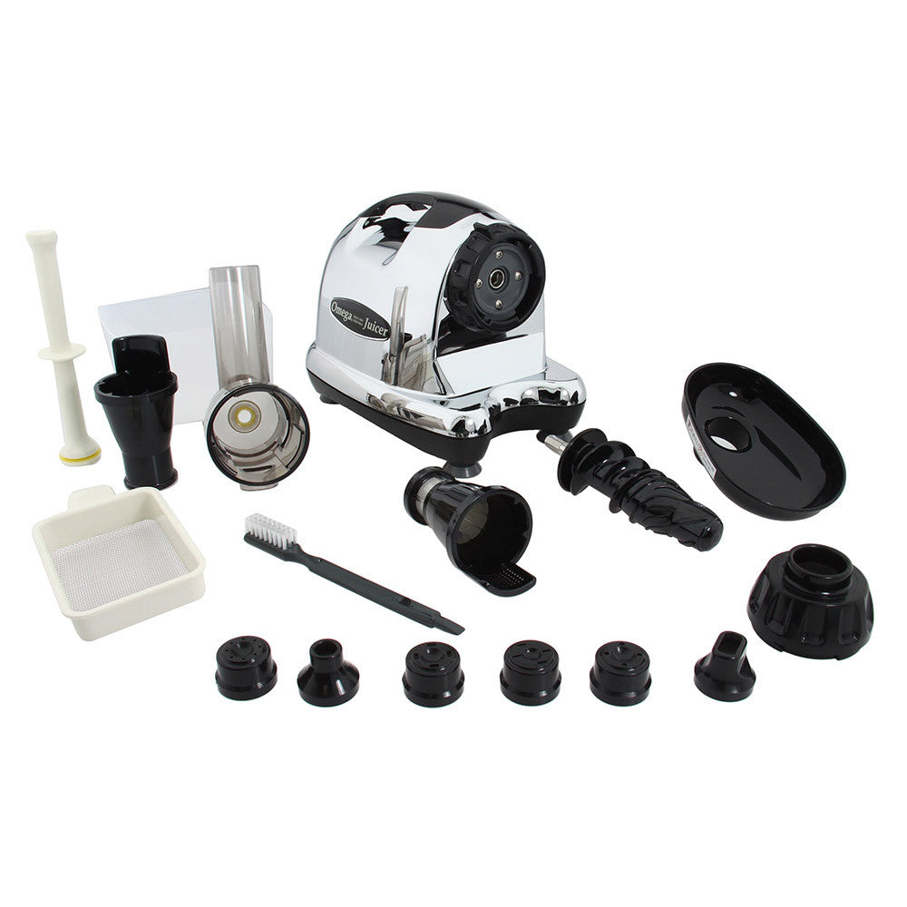 Omega j8006 nutrition center commercial masticating juicer - Omega J8006 Juicer Parts Included