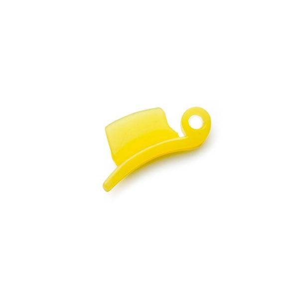 Silicon Plug for Omega VRT Juicers - Yellow
