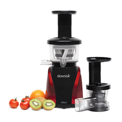 Tribest Slowstar SW-2000 Juicer with Fruit and Homogenizing Attachment
